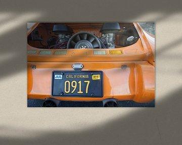 Der Hot Rod Porsche 911 von Chad McQueen von Maurice van den Tillaard