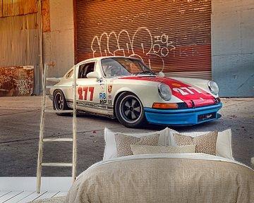 Magnus Walker 277 Hot Rod Porsche 911 von Maurice van den Tillaard