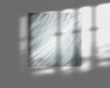 Lichtvezelig grijs blauw van Jörg Hausmann