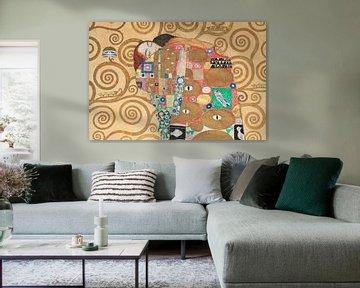 Lovers, Gustav Klimt