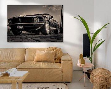 Ford Mustang Convertible van Eric Smeets