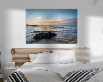 Verlaten strand van Richard Gilissen