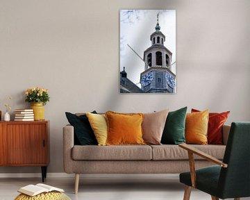 Torenspits van de Aa Kerk van Foto's uit Groningen