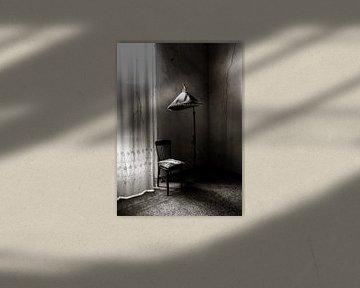 Parasol monochroom van Olivier Photography