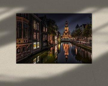 Vue d'Alkmaar sur le casse-cou... sur Peter Korevaar