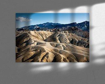Zabriskie Point - Vallée de la mort sur Keesnan Dogger Fotografie