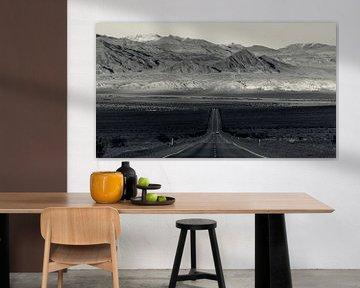 Death Valley - Autobahn CA-190 von Keesnan Dogger Fotografie