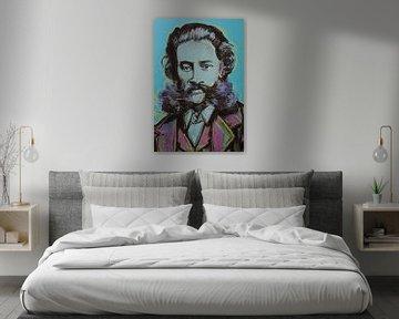 Johann Strauss von Helia Tayebi Art
