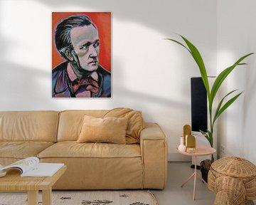 Richard Wagner von Helia Tayebi Art