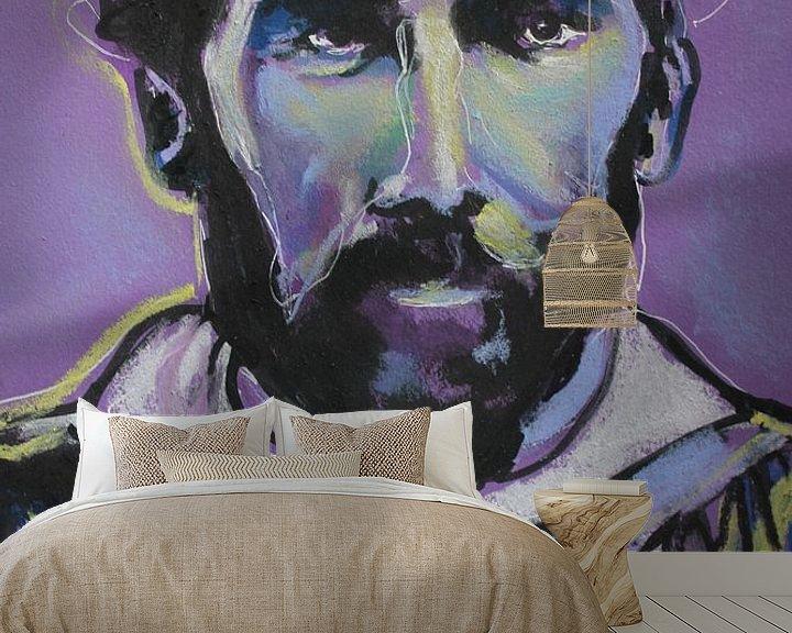 Beispiel fototapete: Gustav Klimt von Helia Tayebi Art