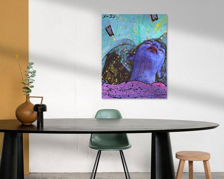 Beispiel: Blaues Doppelkinn von Atelier Liesjes