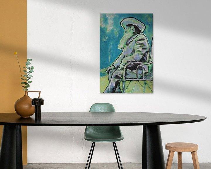 Beispiel: Claude Monet von Helia Tayebi Art