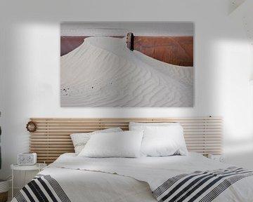 Rohrleitungen in Sand