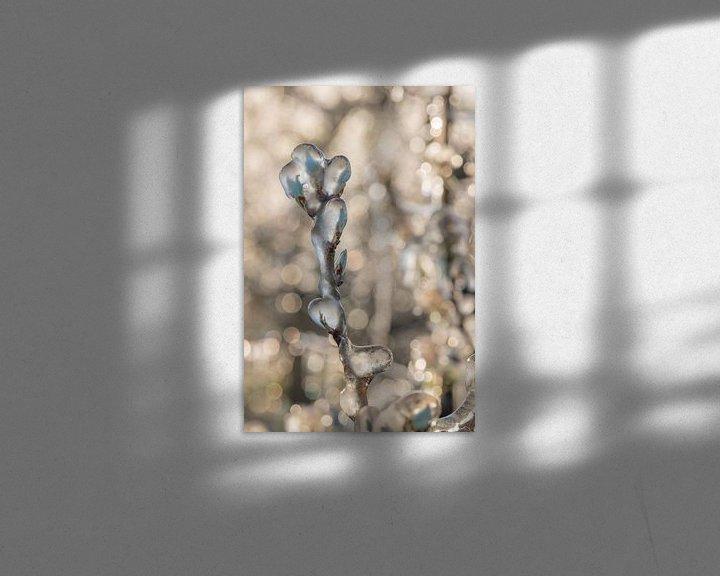 Sfeerimpressie: Beregenen bloesem in de Betuwe van Moetwil en van Dijk - Fotografie