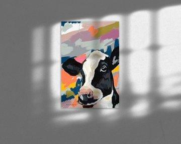 Gemälde einer Kuh von Nicole Habets