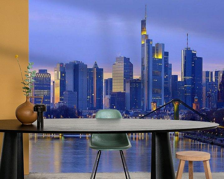 Beispiel fototapete: Frankfurt Skyline von Patrick Lohmüller