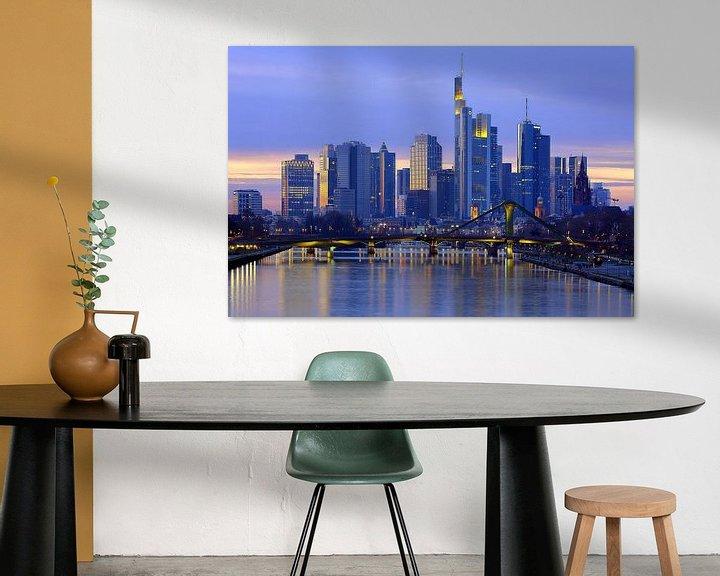 Beispiel: Frankfurt Skyline von Patrick Lohmüller