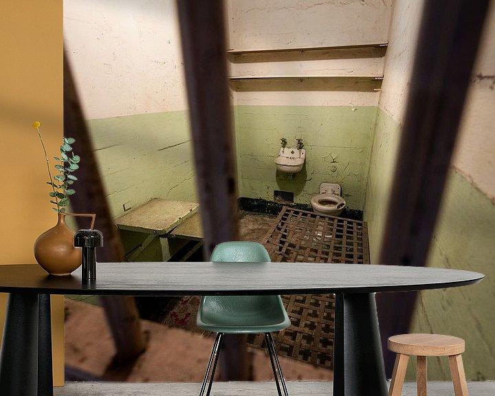 Sfeerimpressie behang: Alcatraz - San Fransisco van Keesnan Dogger Fotografie