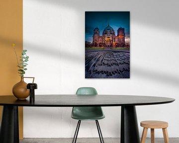 Blue Hour Deluxe Berliner Dom von Iman Azizi
