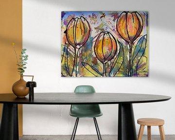 Wilde Tulpen von Jessica van Schijndel