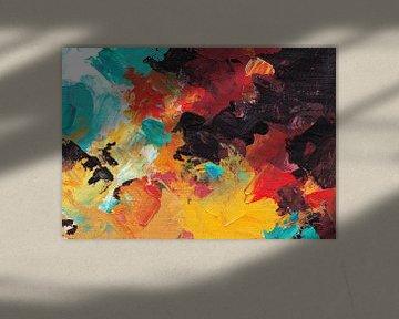 Autumn Dream 5 van Maria Kitano
