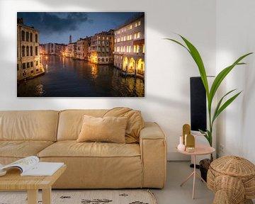 Venedig bei Nacht 2 von Iman Azizi