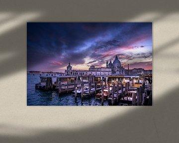 Ciel dramatique à Venise sur Iman Azizi