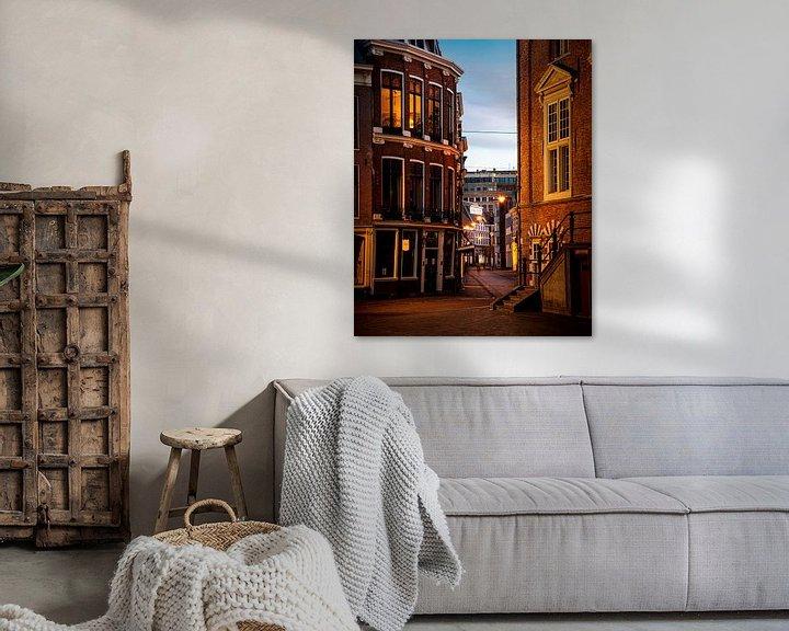 Impression: La Koningstraat au centre de Haarlem - couleur sur Arjen Schippers