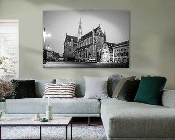La Grande Marque à Haarlem - en noir et blanc