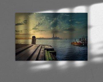 Sunrise in Venice von Iman Azizi