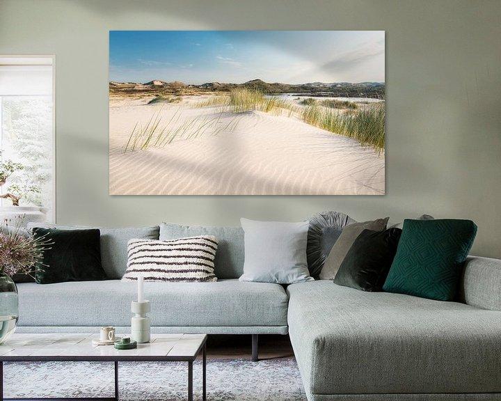 Sfeerimpressie: Stuifzand in de duinen van Fotografie Egmond
