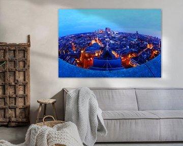 Blick über die Skyline von Den Haag von Wilmar Dik
