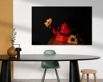 Sonnenblumen-Stilleben von Mandy Schreve
