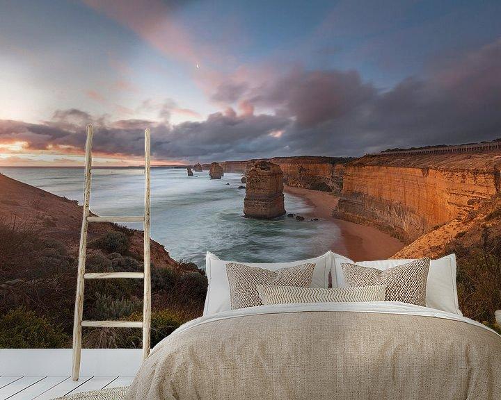 Beispiel fototapete: Zwölf Apostel - Great Ocean Road - Australien von Jiri Viehmann