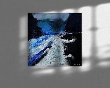Blauer Strom von pol ledent
