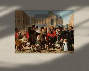 Diogenes auf der Suche nach einem ehrlichen Mann, Caesar van Everdingen
