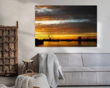 Sun Set @ Amsterdam von Rene Jacobs
