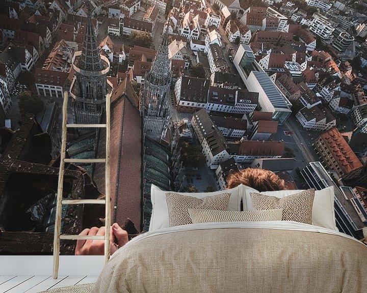 Beispiel fototapete: Münster Sunrise von Flave_de