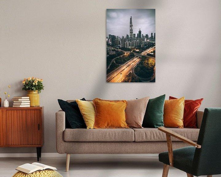 Beispiel: Shenzhen Skyline von Flave_de