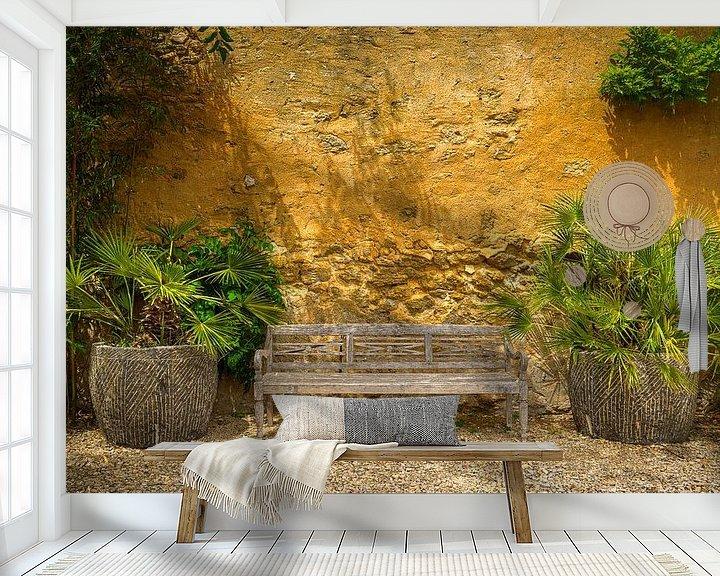 Sfeerimpressie behang: 1612 Have a seat van Adrien Hendrickx