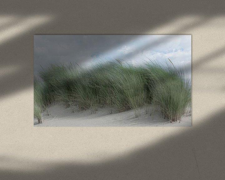 Sfeerimpressie: 1182 Swaying dune grass van Adrien Hendrickx