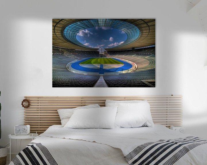 Beispiel: Olympiastadion Berlin von Rene Ladenius Digital Art