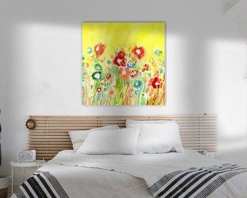 Blumenwiese von Claudia Gründler