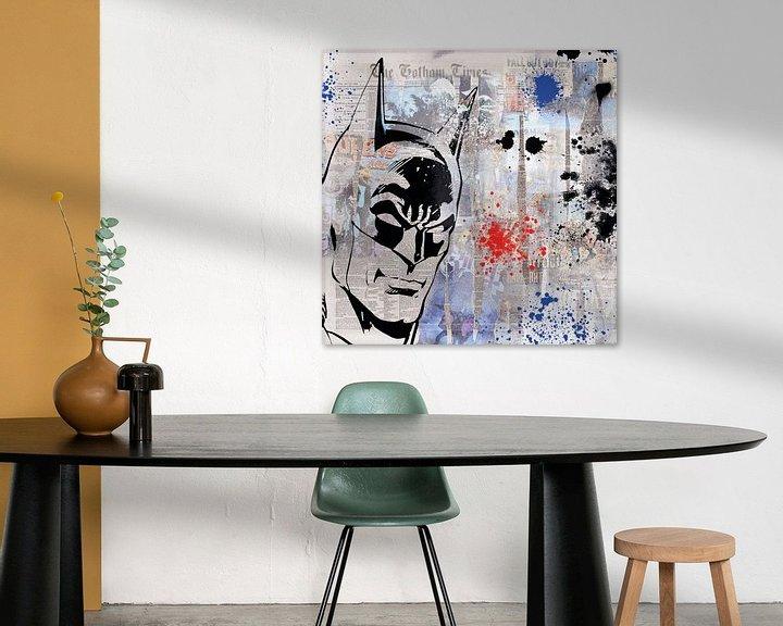 Beispiel: Der Held von Gotham City von Rene Ladenius Digital Art