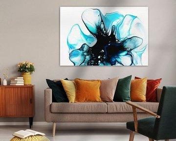 Blaue Blume / Blaue Blume / Fleur bleue von Joke Gorter