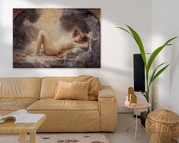 """""""la pluie dor"""" oder der Goldregen - 1907 von Atelier Liesjes"""