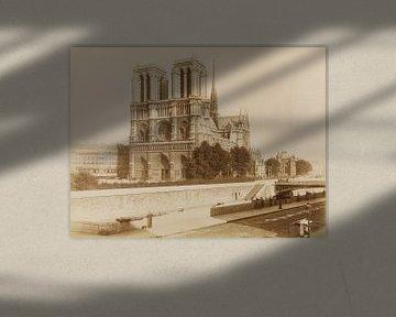 Notre Dame - zwischen 1880 und 1900 von Atelier Liesjes