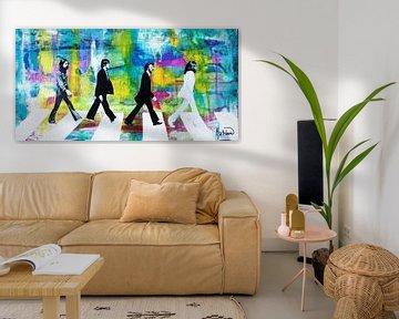 Die Beatles-Gruppe von Kathleen Artist Fine Art