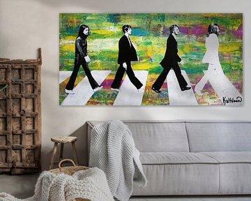 De Beatles-groep van Kathleen Artist Fine Art