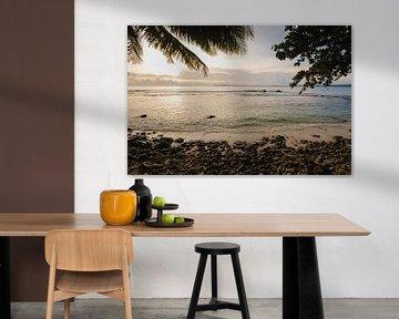 Sonnenuntergangs-Strand Mentawai 2
